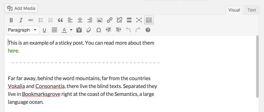 Изменения в WordPress 3.9