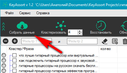 KeyAssort – новое слово в кластеризации семантического ядра
